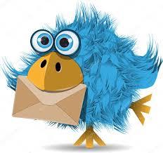 oiseau lettre