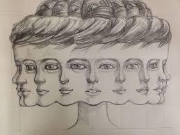 plusieurs visages