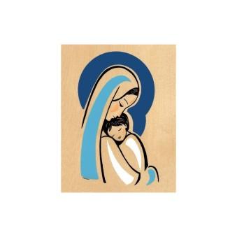 cadre-bois-vierge-mere-bleue-abbaye-de-veniere
